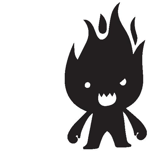 BBQ Flame-man