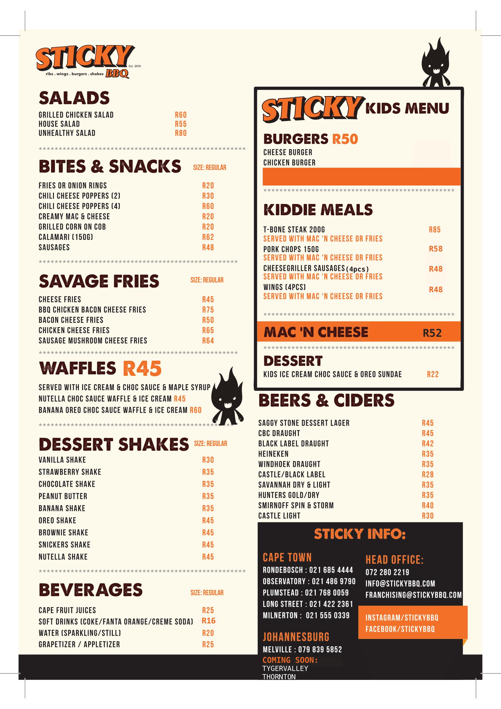STICKY BBQ 2021-2